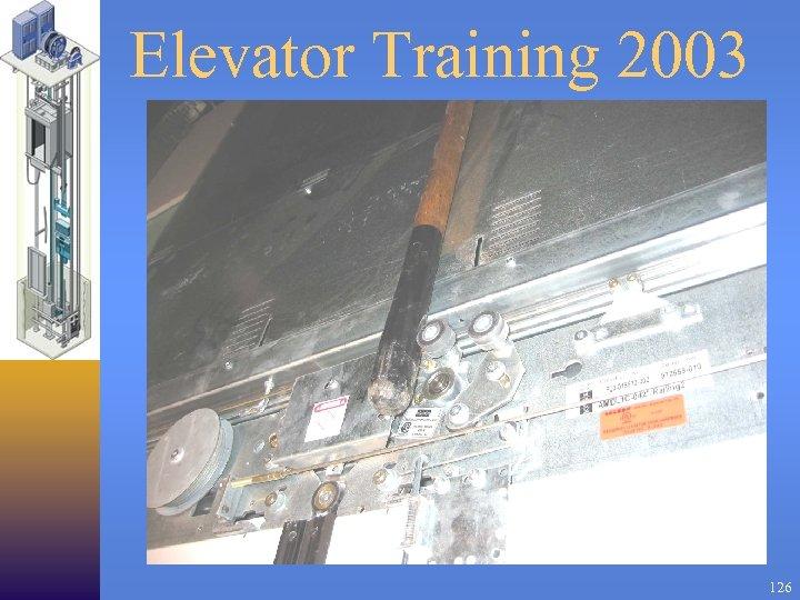 Elevator Training 2003 126