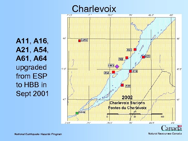 Charlevoix A 11, A 16, A 21, A 54, A 61, A 64 upgraded