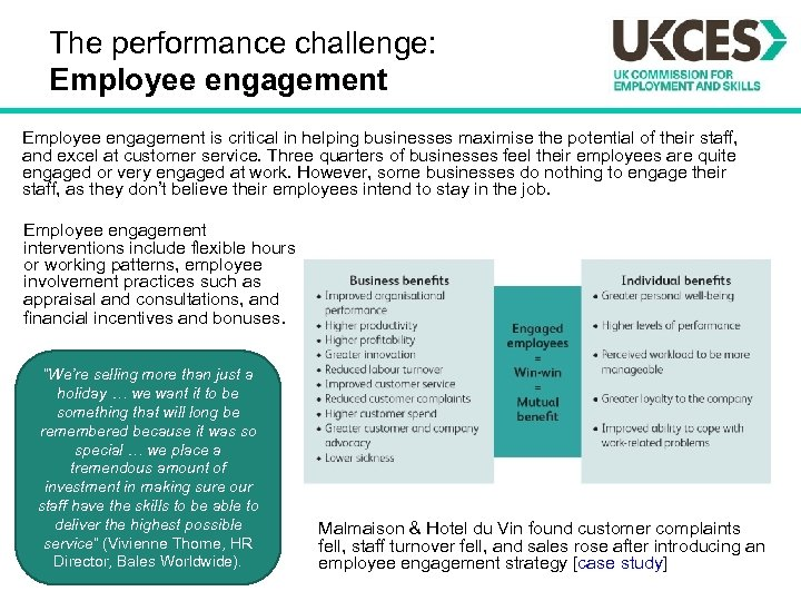 The performance challenge: Employee engagement is critical in helping businesses maximise the potential of