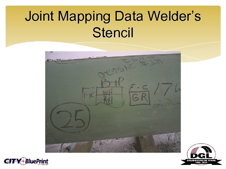Joint Mapping Data Welder's Stencil
