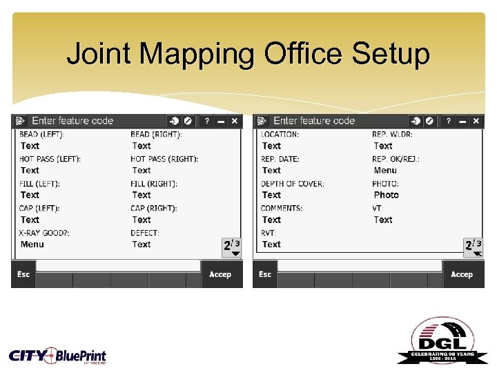 Joint Mapping Office Setup