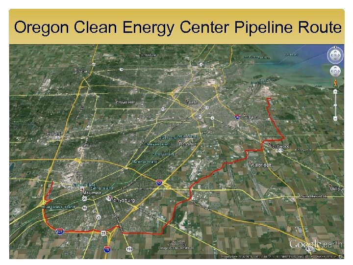 Oregon Clean Energy Center Pipeline Route