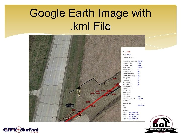 Google Earth Image with. kml File