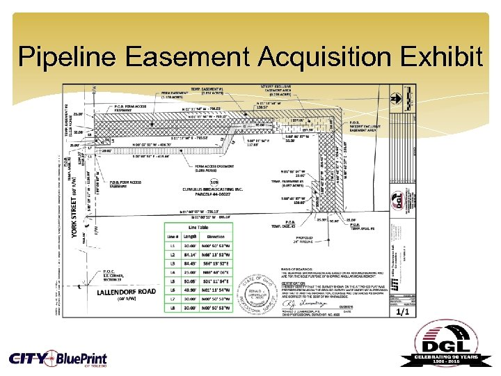 Pipeline Easement Acquisition Exhibit