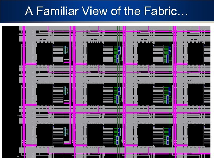 A Familiar View of the Fabric… 13