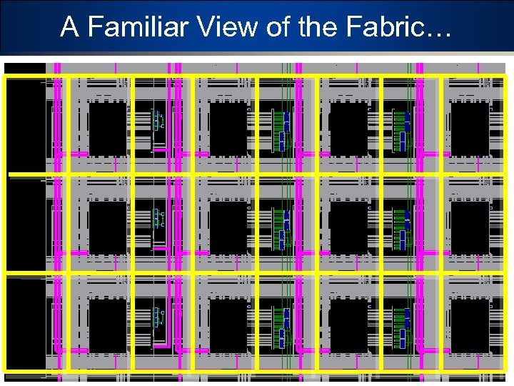 A Familiar View of the Fabric… 14