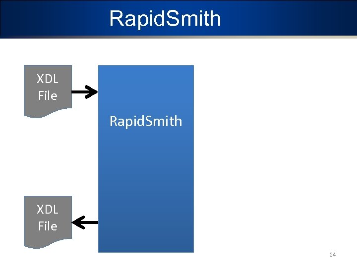 Rapid. Smith XDL File 24