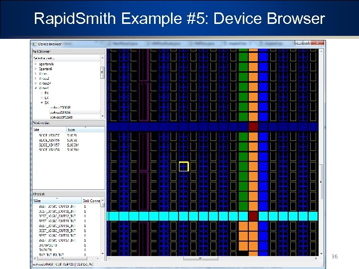 Rapid. Smith Example #5: Device Browser 36