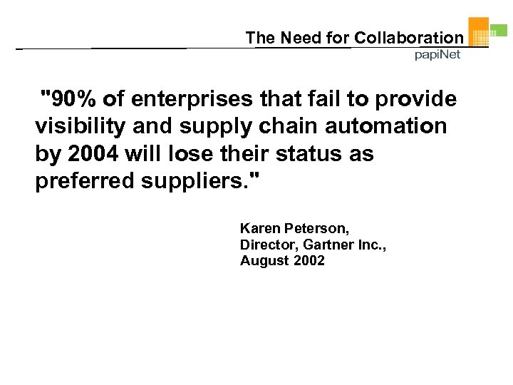 The Need for Collaboration