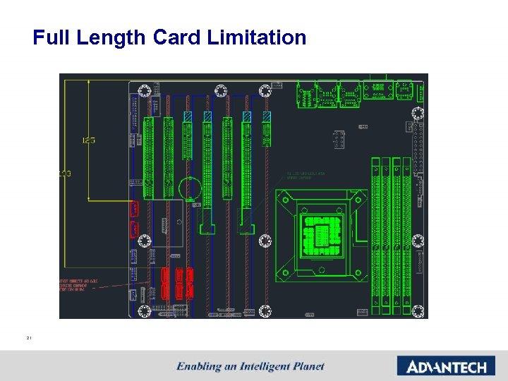 Full Length Card Limitation 21