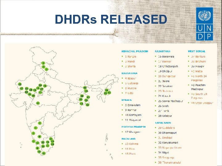 DHDRs RELEASED