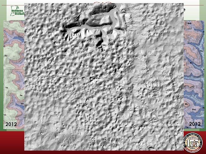 SE Huron Quadrangle Using NED DEM Li. DAR SW Georgia Quadrangle Using Li. DAR
