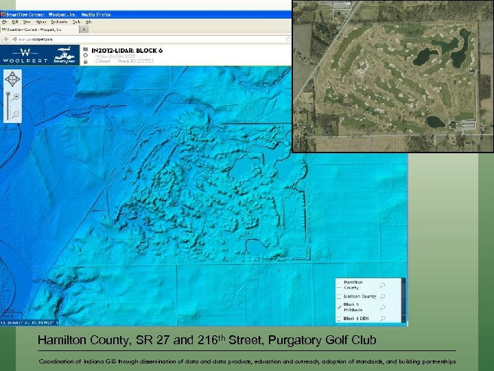Hamilton County, SR 27 and 216 th Street, Purgatory Golf Club Coordination of Indiana