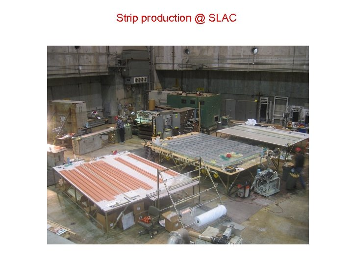 Strip production @ SLAC