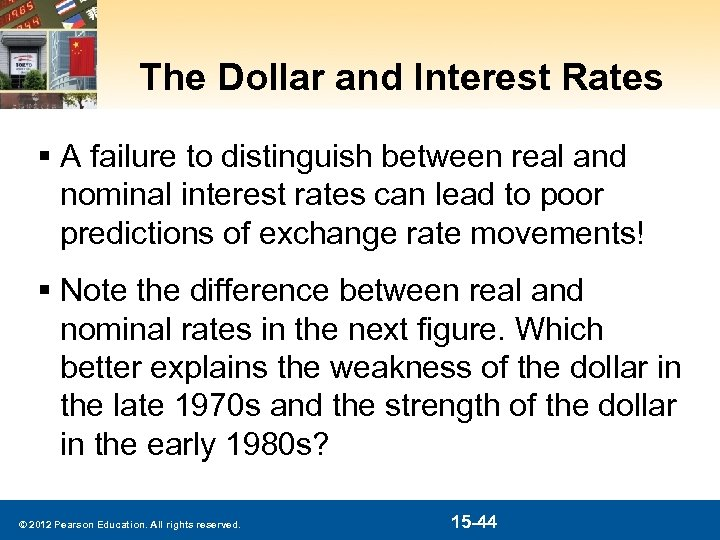 The Dollar and Interest Rates § A failure to distinguish between real and nominal