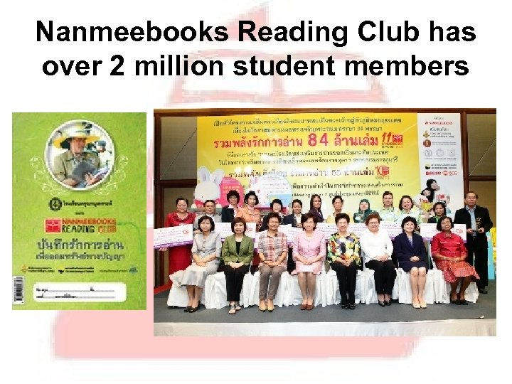 Nanmeebooks Reading Club has over 2 million student members