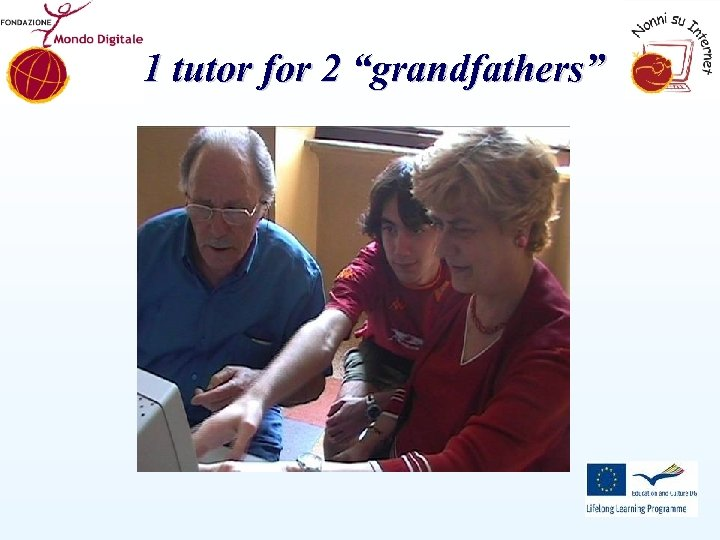 """1 tutor for 2 """"grandfathers"""""""