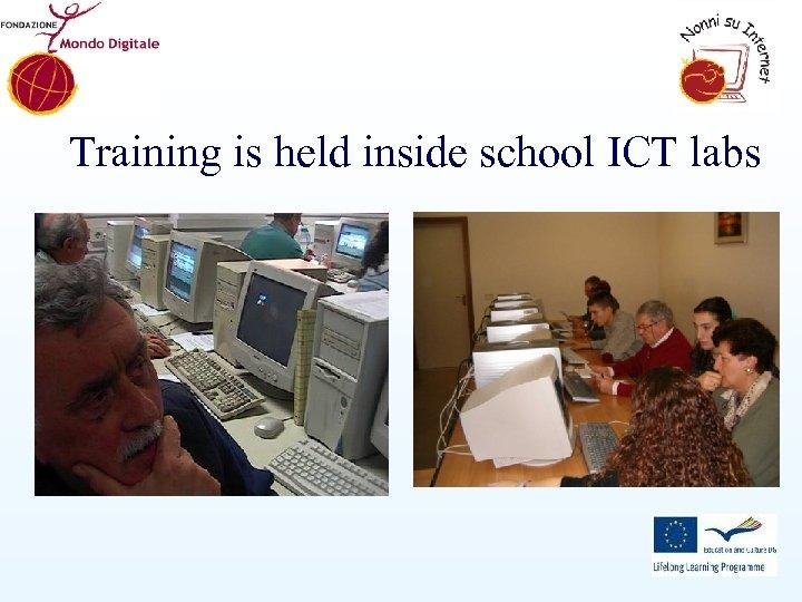 Training is held inside school ICT labs