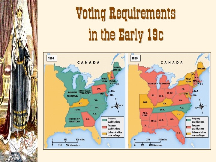 Voting Requirements in the Early 19 c