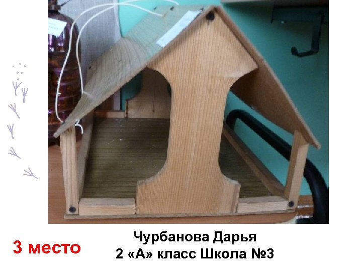 3 место Чурбанова Дарья 2 «А» класс Школа № 3