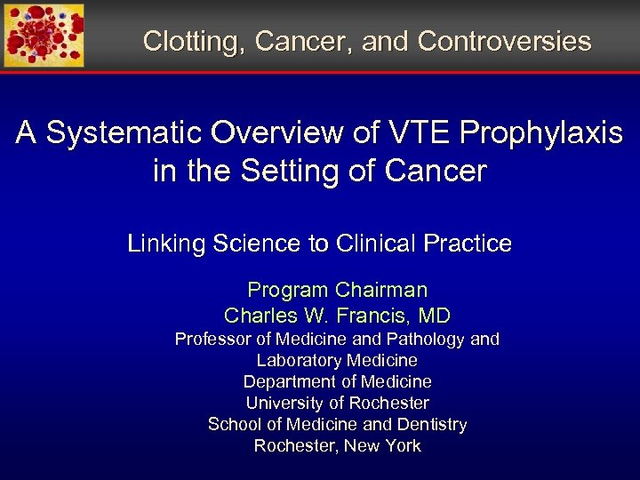 Clotting, Cancer, and Controversies A Systematic Overview of VTE Prophylaxis in the Setting of