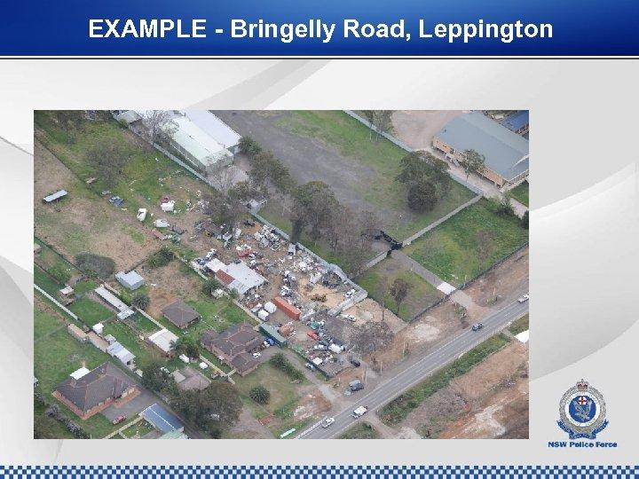 EXAMPLE - Bringelly Road, Leppington