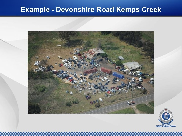 Example - Devonshire Road Kemps Creek