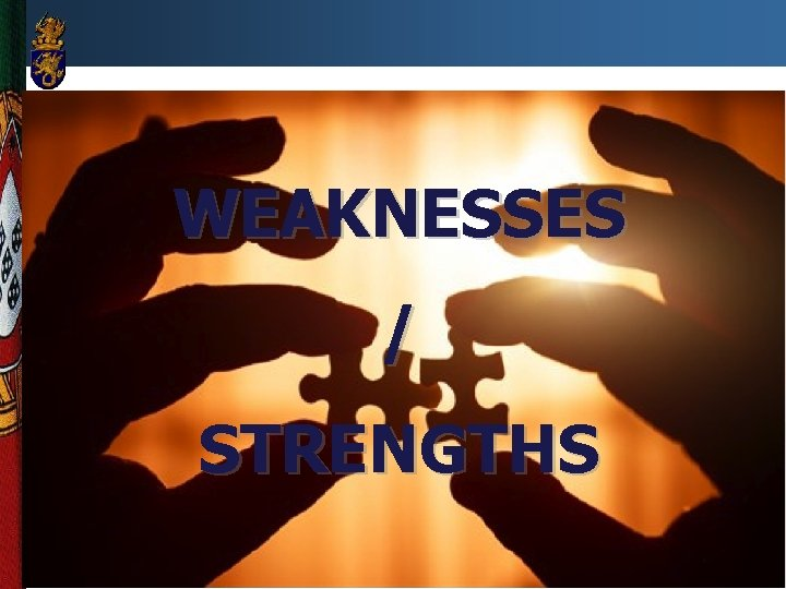 WEAKNESSES / STRENGTHS 8