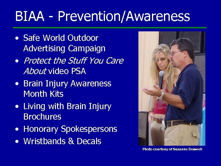 BIAA - Prevention/Awareness • Safe World Outdoor Advertising Campaign • Protect the Stuff You
