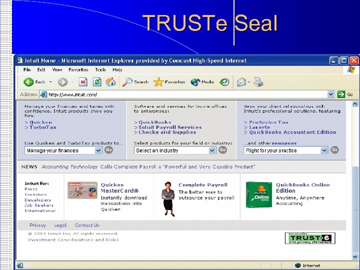 TRUSTe Seal