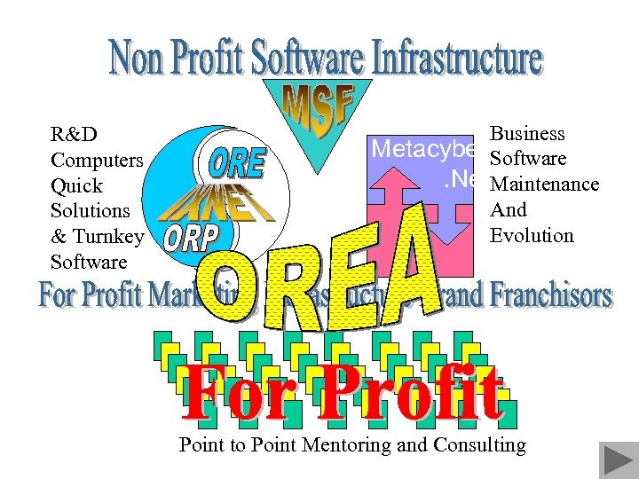 R&D Computers Quick Solutions & Turnkey Software Business Metacyber Software. Net. Maintenance And Evolution