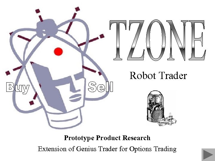 Robot Trader Prototype Product Research Extension of Genius Trader for Options Trading