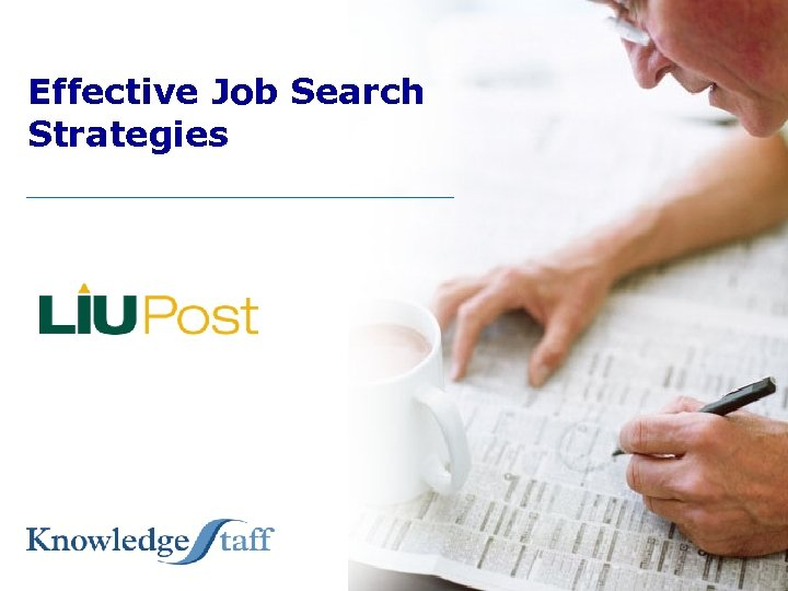 Effective Job Search Strategies