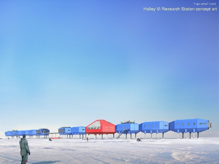 Halley VI Research Station concept art