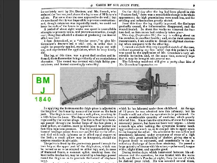 BM J 1840