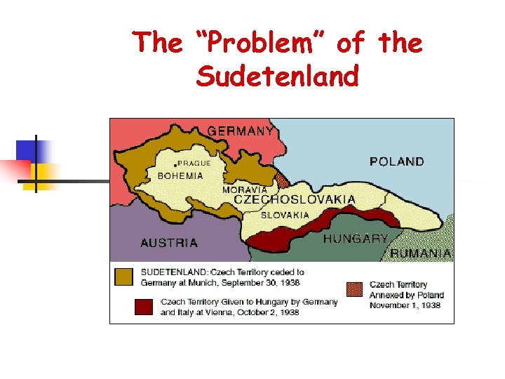 """The """"Problem"""" of the Sudetenland"""