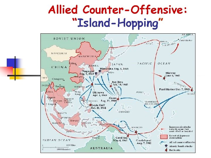 """Allied Counter-Offensive: """"Island-Hopping"""""""