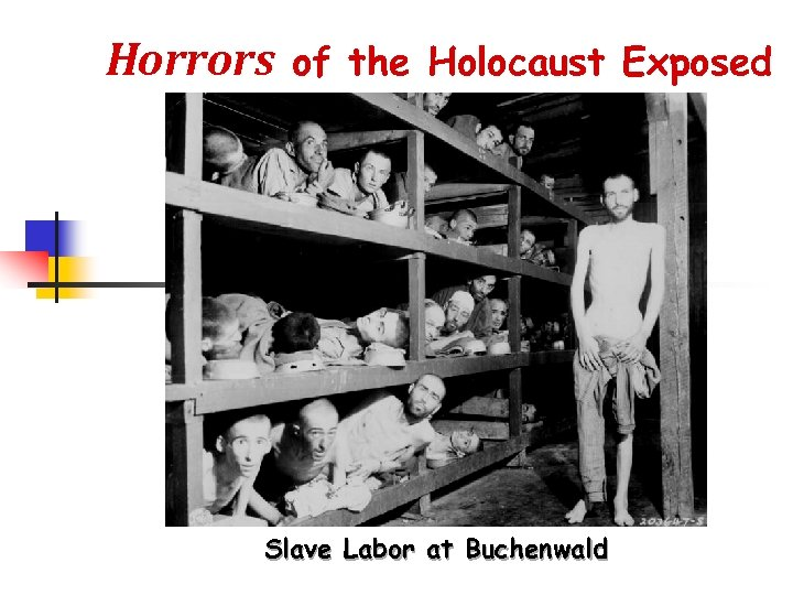 Horrors of the Holocaust Exposed Slave Labor at Buchenwald