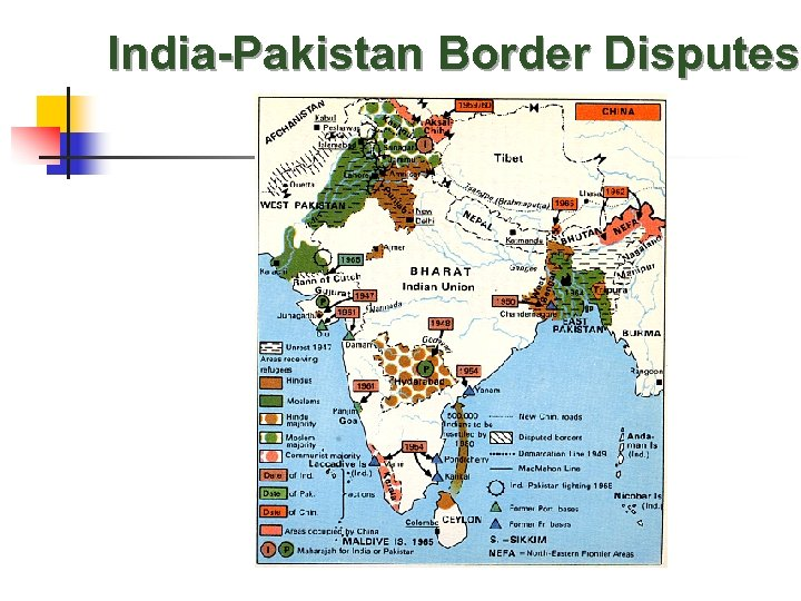 India-Pakistan Border Disputes