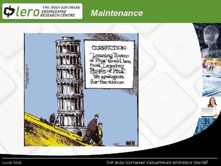 Maintenance 17