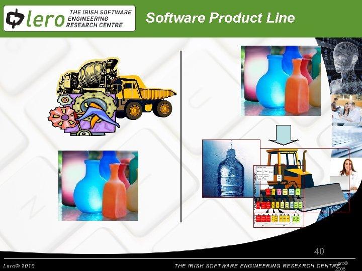 Software Product Line 40 Lero© 2008