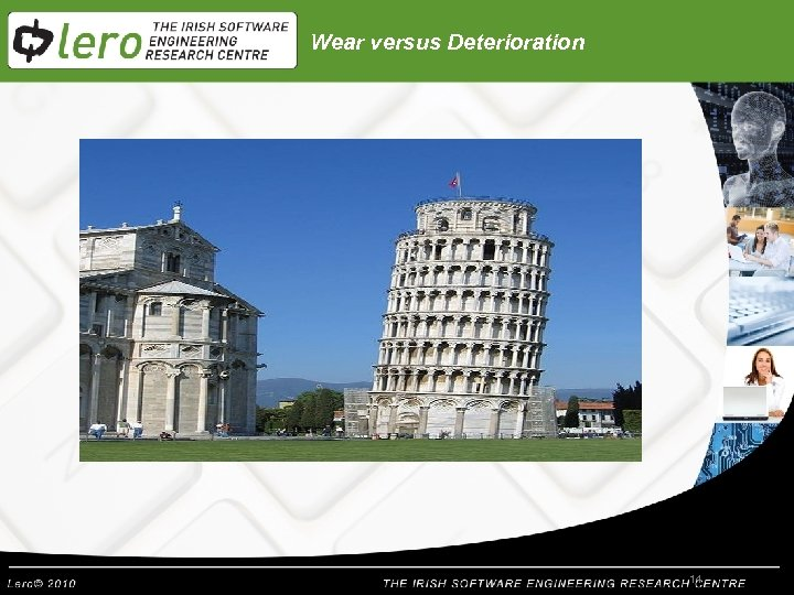 Wear versus Deterioration 14