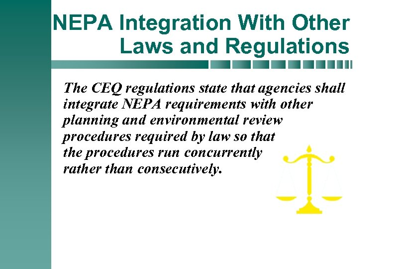 national environmental policy act nepa The national environmental policy act (nepa) of 1969 is one of the first and most significant pieces of environmental legislation enacted in the us nepa provides the basic national charter for protection of the environment the law is intended to ensure that information regarding environmental.