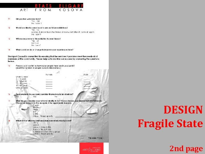 DESIGN Fragile State 2 nd page