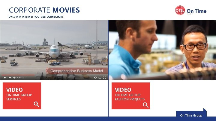 CORPORATE MOVIES ONLY WITH INTERNET (YOUTUBE) CONNECTION: 189, 000 SQ FT Warehouse & distribution