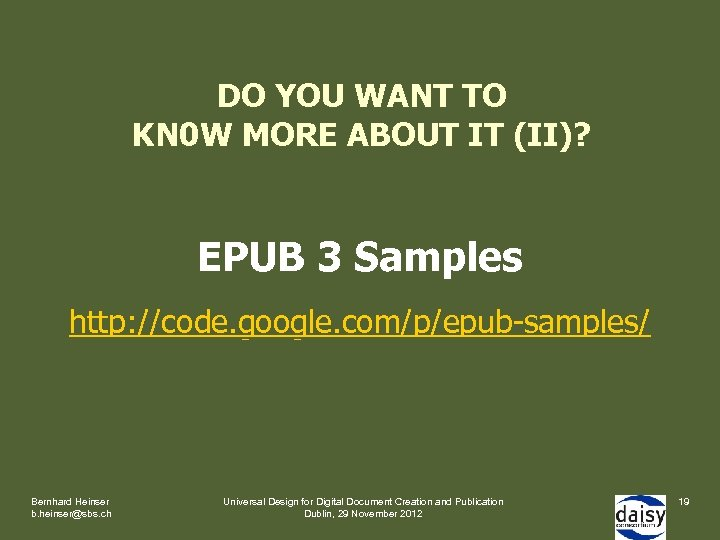 DO YOU WANT TO KN 0 W MORE ABOUT IT (II)? EPUB 3 Samples