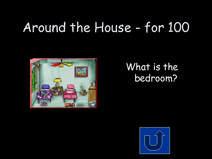 Around the House - for 100 What is the bedroom?