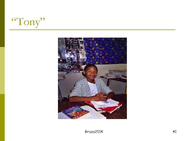 """Tony"" Brozo 2014 41"