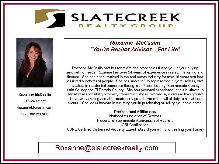Roxanne Mc. Caslin