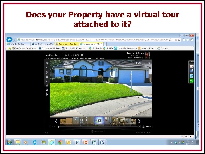 Does your Property have a virtual tour attached to it?